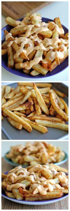 wonderkitchen: Garlic Cheese Fries