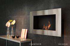 Ventless Ethanol Fireplace