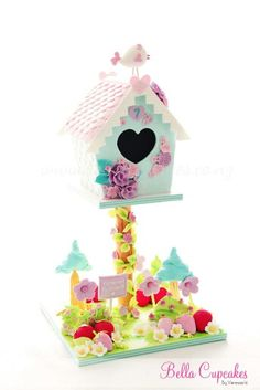 Edible Art. Bird house