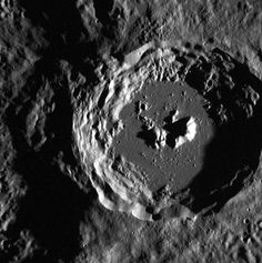 A crater on Mercury at the edge of the larger Oskison crater located in the plains north of Caloris basin. Credit: NASA/Johns Hopkins University Applied Physics Laboratory/Carnegie Institution of Washington Hubble Space Telescope, Space And Astronomy, Mercury Orbit, Craters On The Moon, Universe Today, Johns Hopkins University, Out Of This World
