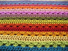 Cosy Stripe Blanket by Lucy of Attic24
