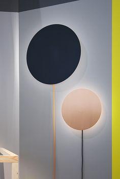 "Lamp ""Halo"" by the young #Danish designer Nina Bruun"