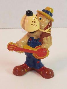 Vtg Chuck E Cheese Jasper T. Jowls PVC Pizza Time Theatre Dog Figure Toy 1980s #ChuckECheese