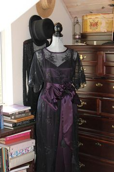 Edwardian Inspired Tea Gown
