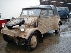 Volkswagen Kubelwagen Typ 82, 1940 Maintenance/restoration of old/vintage vehicles: the material for new cogs/casters/gears/pads could be cast polyamide which I (Cast polyamide) can produce. My contact: tatjana.alic@windowslive.com