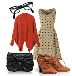 Dress, Sweater & Shoes