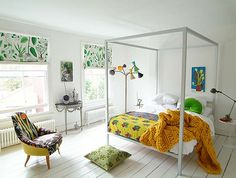 Transform your Bedroom with Colorful Bedding | Paper and Stitch