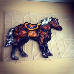 Epona - Ocarina of Time perler beads by smargetts