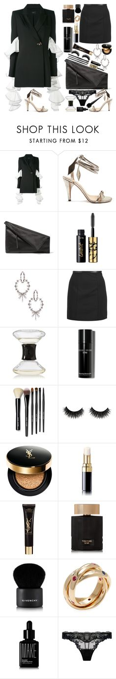 """So chic!"" by naki14 ❤ liked on Polyvore featuring E L L E R Y, Chloé, Diane Von Furstenberg, tarte, DANNIJO, Alexander Wang, Diptyque, Bobbi Brown Cosmetics, Yves Saint Laurent and Chanel"