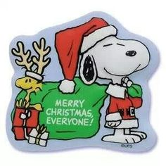 santa snoopy - Snoopy Merry Christmas Images