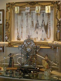 The Attic: Repurposed Jewelry Displays