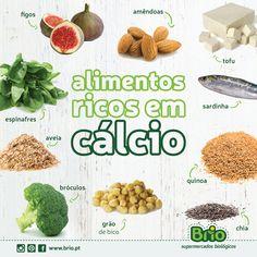 Brio supermercados biol gicos alimentos ricos em ferro dieta pinterest supermercado - Alimentos naturales ricos en calcio ...