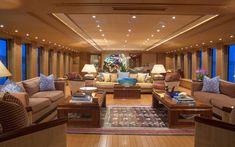 Interiors and details onboard Capricorn, 140 ft. explorer yacht, in Newport RI. Wallpaper