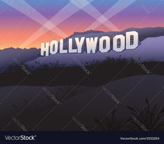 Image Result For Hollywood Sign Eps