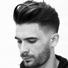 Quiff + High Fade + Line Up http://www.99wtf.net/men/inspirations-stylish-mens-hairstyles-thick-hair/ #menshairstylesthickhair #men'shairstyles