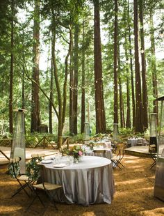 Photography: ANA NYC - anaphoto.co Read More on SMP: http://www.stylemepretty.com/california-weddings/2014/09/11/romance-in-the-redwoods/