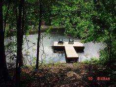 Not the seashore, but it is the dock on the pond in my backyard.