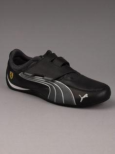 827b7bef21d Puma® Ferrari Drift Cat 4 Mens Strap Sneakers in Black. You ll be