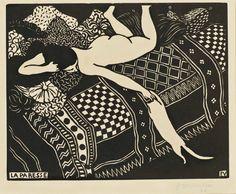 Felix Vallotton (1865-1925)   La Paresse