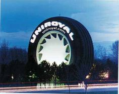 The World's Largest Tire!!! I miss home...