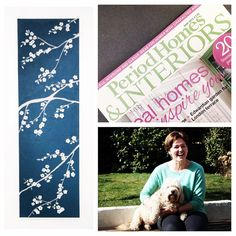 """Very happy to be featured in May PHI, back page """"Handmade in Britain""""!"""