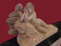 statue. Venus sur rocher. d'après PRADIER.