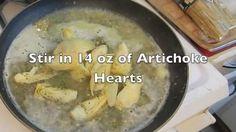 How to make Chicken Artichoke Piccata and Lemon Pepper Linguini