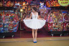 Lauren: créatrice de robes de mariée sur mesure à Lyon, Boutique, Styliste couturière mariage