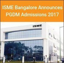 ISME+Banaglore+Announces+PGDM+and+MBA+Admissions+2017