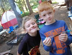 Camping Crafts & Activities For Kids