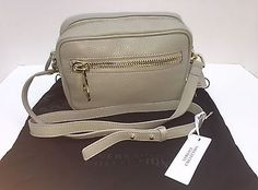 Versace Collection Shoulder Bag Purse Vitello Stampa Alce $477