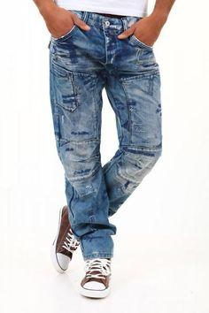 Cipo & Baxx Write Jeans - Blå - $990nok