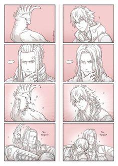 i can't DRAMAtical Murder DMMd shi's art aoba seragaki mink (dmmd) tori (dmmd) this comic is so pink: