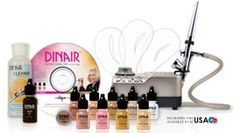 DINAIR Airbrush Makeup System- OBSESSED!!! Best product I have ever purchased!