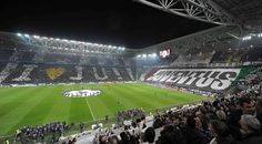 Watching a Champions League match at Juventus Arena
