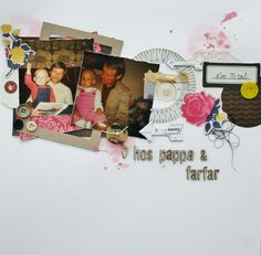 Scrapbooking layouts
