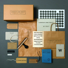 We love 's use of GIll Sans. Head their page to find out the history of this iconic font. Packaging Design Inspiration, Graphic Design Inspiration, Identity Design, Visual Identity, Labour And Wait, Gill Sans, Tapestry Fabric, Embossed Cards, Corporate Design