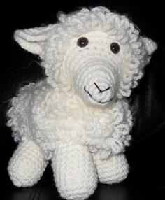 Sheep stuffed animal- I created this pattern :)