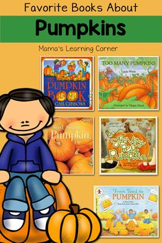 Books are the backbone of our pumpkin unit study each year. Find out our favorite books about pumpkins for young learners!