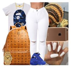 """""""Untitled #1517"""" by msixo ❤ liked on Polyvore featuring MCM, NIKE and Rolex"""