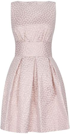 Closet #Metallic spot cut out back #dress