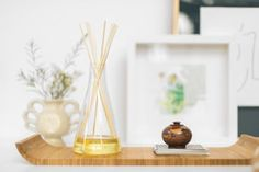 How To Make Homemade Reed Diffusers - Essential Oils | Apartment Therapy