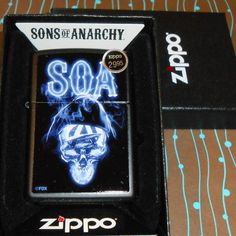 Zippo 29317 SOA Ghostly Reaper Sons of Anarchy Matte 2017 Release NEW Lighter