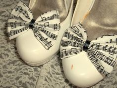 Musical Notes Shoe Clips   Shoe Clips Wedding by ShoeClipsOnly