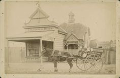 Caledonian Bakery, [The Parade] Ascot Vale Date(s) of creation: [ca. 1890-ca. 1900]