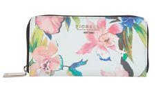 Fiorelli Evelyn Summer Floral Purse. Get it here http://www.lesleyashworth.co.uk/purses/fiorelli-evelyn-large-zip-around-purse-summer-floral-fs0752.html