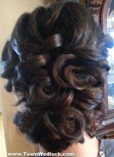 Bridal Updo Style! www.TeamWedlock.com