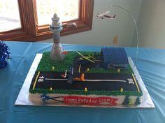 Airport birthday cake