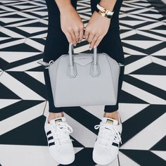 Givenchy Antigona Mini Bag Grey