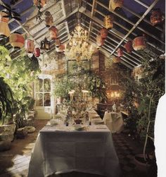 Robert Kime Conservatory Dining Room